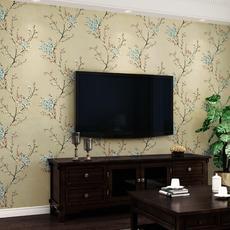 供应 卧室客厅背景墙壁纸墙纸