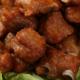 供应 速冻蒜香骨 酒店特色菜半成品 油炸猪肉猪排骨 饭店私房菜 500克