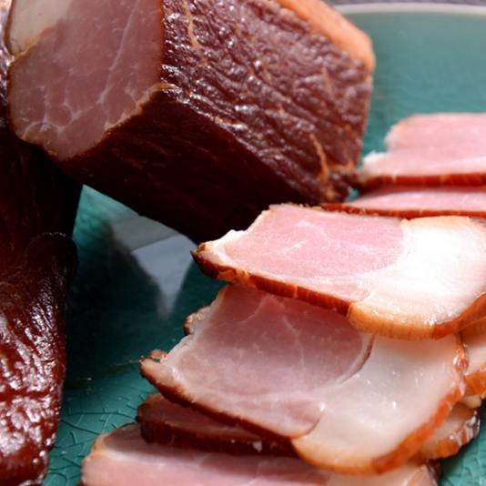 供应 湖北恩施农家土猪肉腊肉正宗熏肉土特产柴火烟熏腌肉500g