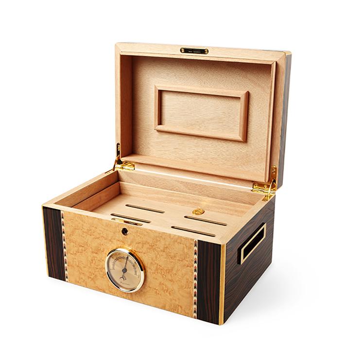木盒工厂定制精品实木雪茄盒 进口品牌锁扣式 十年品质保证