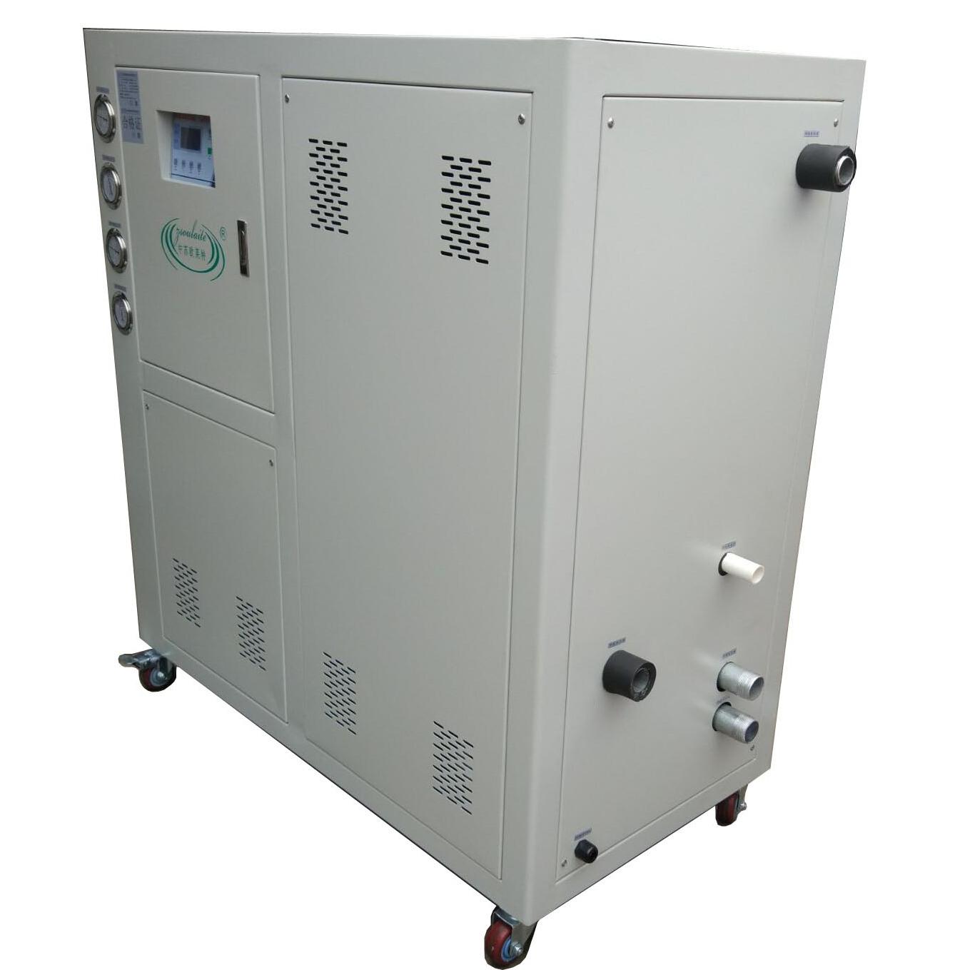 供应苏州欧莱特水冷式冷水机 箱式移动冷水机