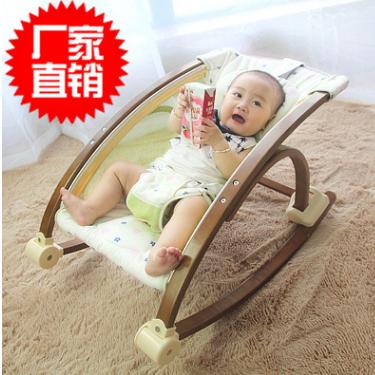 贝贝宜婴儿实木睡篮安抚椅躺椅豪华摇篮婴儿秋千婴幼儿用品0-12月