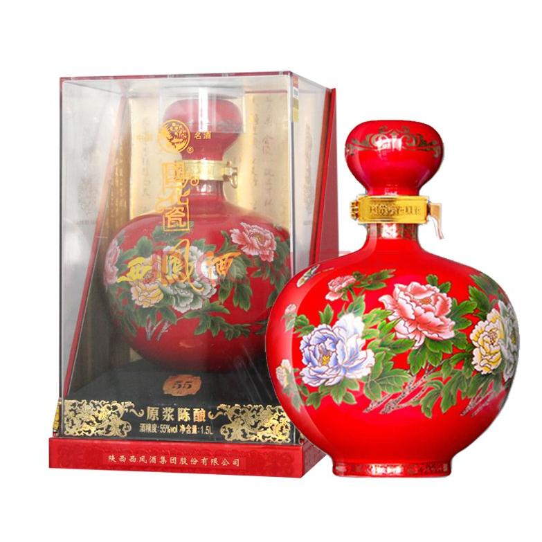 西凤酒原浆国花瓷