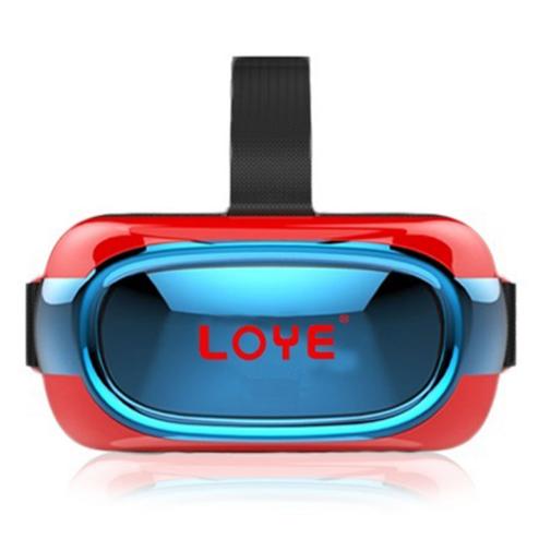 供应全息VR一体机 wifi连接 四核虚拟现实智能3d眼镜 现货OEM定制