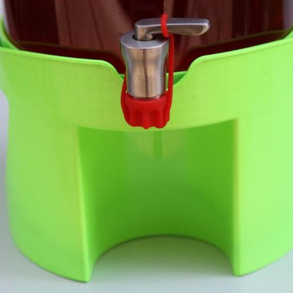 无铅玻璃瓶自酿罐支架 储酿瓶塑料底座