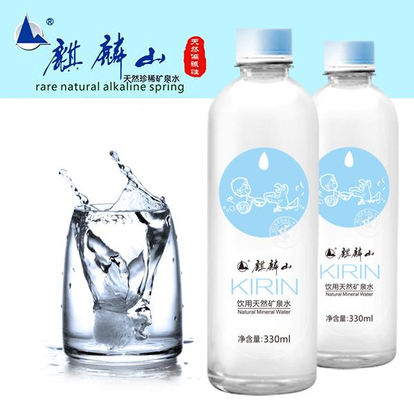广东麒麟山富锶偏硅酸型天然矿泉水