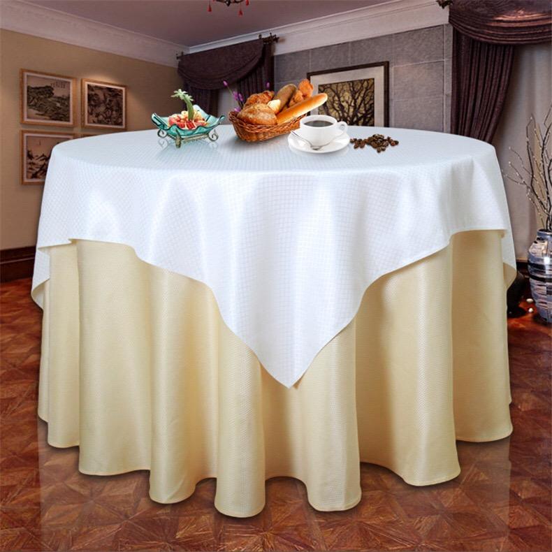 北京酒店椅子套会议室桌布定做餐厅台布会所桌布口布