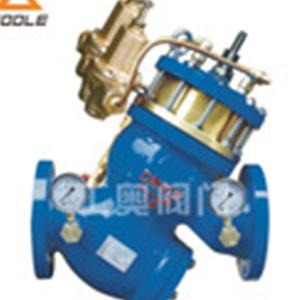 YQ980012型过滤活塞式可调减压流量控制阀水力控制防护