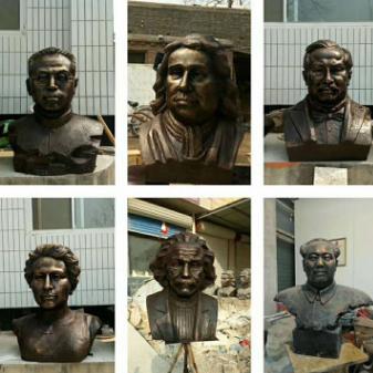 供应工厂现货 古代人物铜雕名人 广场公园学校落地摆件