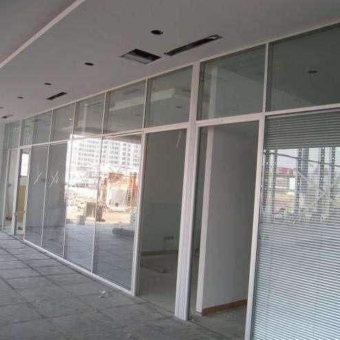 铝合金隔断 铝合金隔墙 铝合金玻璃隔断 铝合金办公隔断