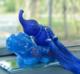 供应 新款琉璃貔貅汽车摆件创意车载香水座汽车饰品葫芦摆件