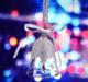 供应 水晶铃铛挂件汽车饰品创意圣诞挂饰风铃精美车内挂坠