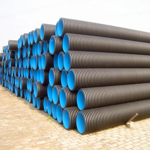 HDPE中空壁缠绕管-统塑管业公司