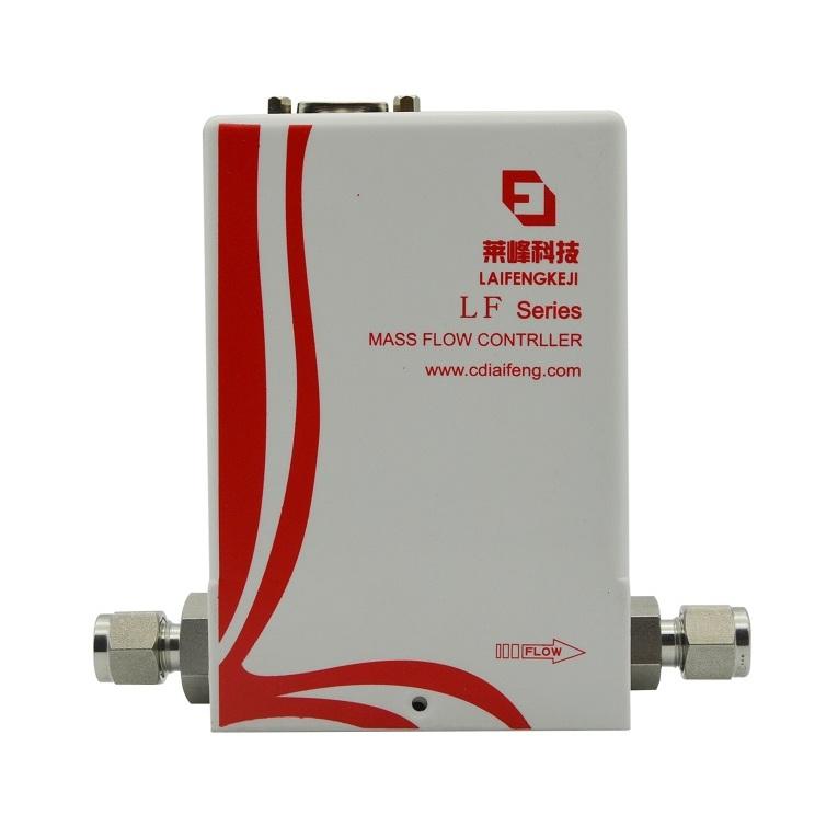 莱峰LF485S数字式热式气体质量流量控制器流量计氢气传感器气体流速控制器流量计生产厂家