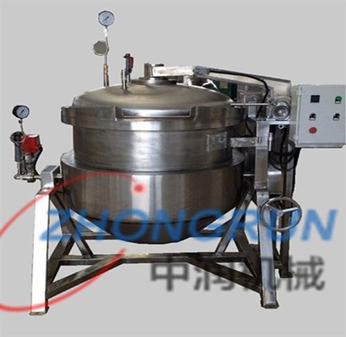 商用高温高压快速粽子锅_高温高压快速粽子锅_诸城中润机械