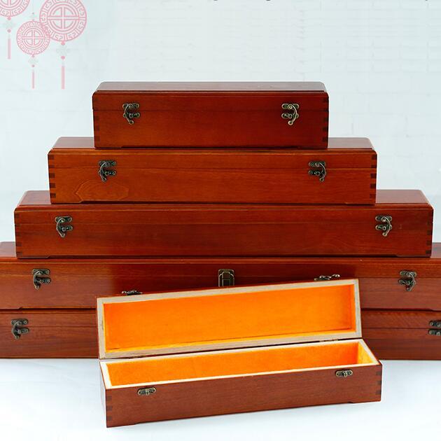 招商 香樟木定制印章锦盒收藏盒代理加盟