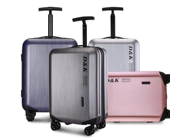 明星同款行李箱单杆拉杆箱