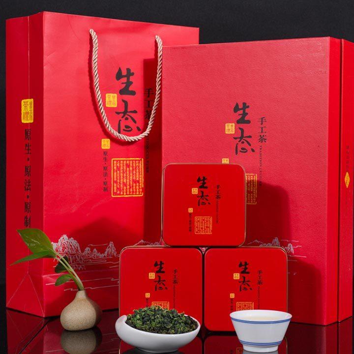 供应  铁观音 茶叶礼盒装 2017新茶安溪浓香型乌龙茶