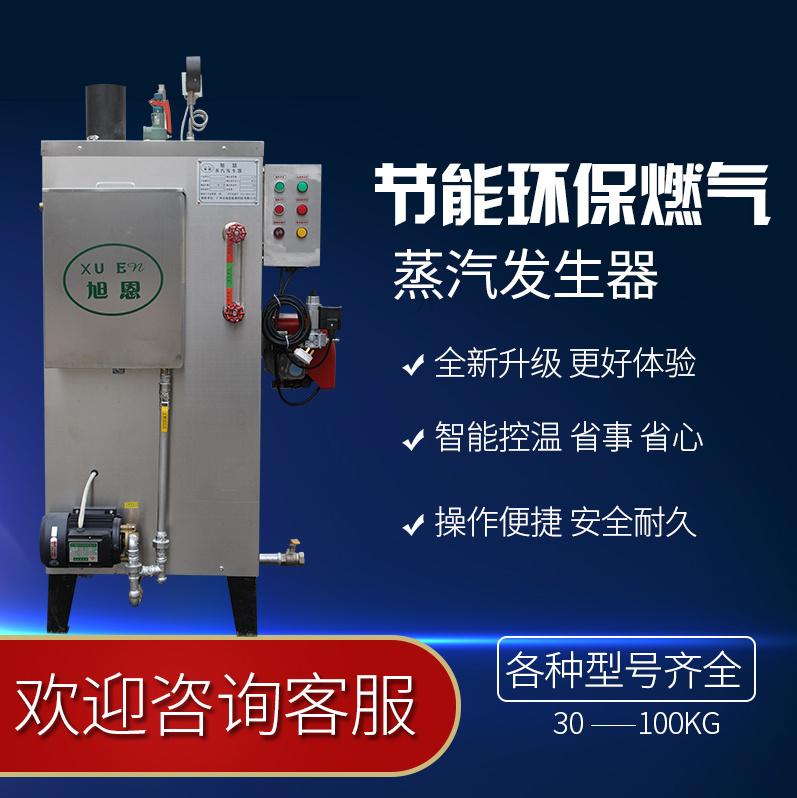 旭恩全自动燃气蒸汽发生器30kg蒸汽发生器全自动售后全国