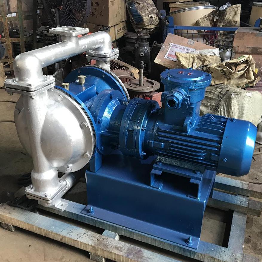 DBY电动隔膜泵  不锈钢304材质,配F46膜片防爆电机