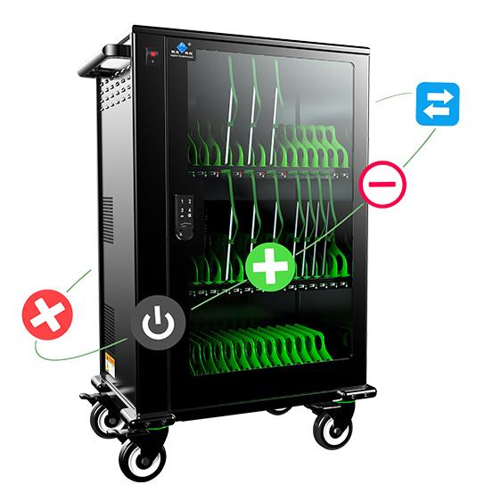 供应平板电脑充电柜  移动充电车  移动终端管理充电柜 syn**8