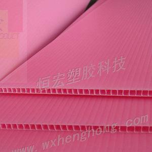 常州PP中空板 中空板刀卡 中空板隔板 太阳能电池垫板 光伏垫板 塑料广告板
