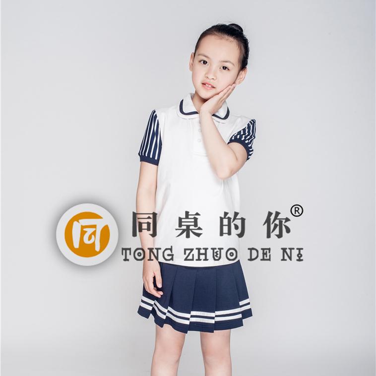 小学生校服定制 夏季新款运动活力套装XY002y中国风校服校服代理