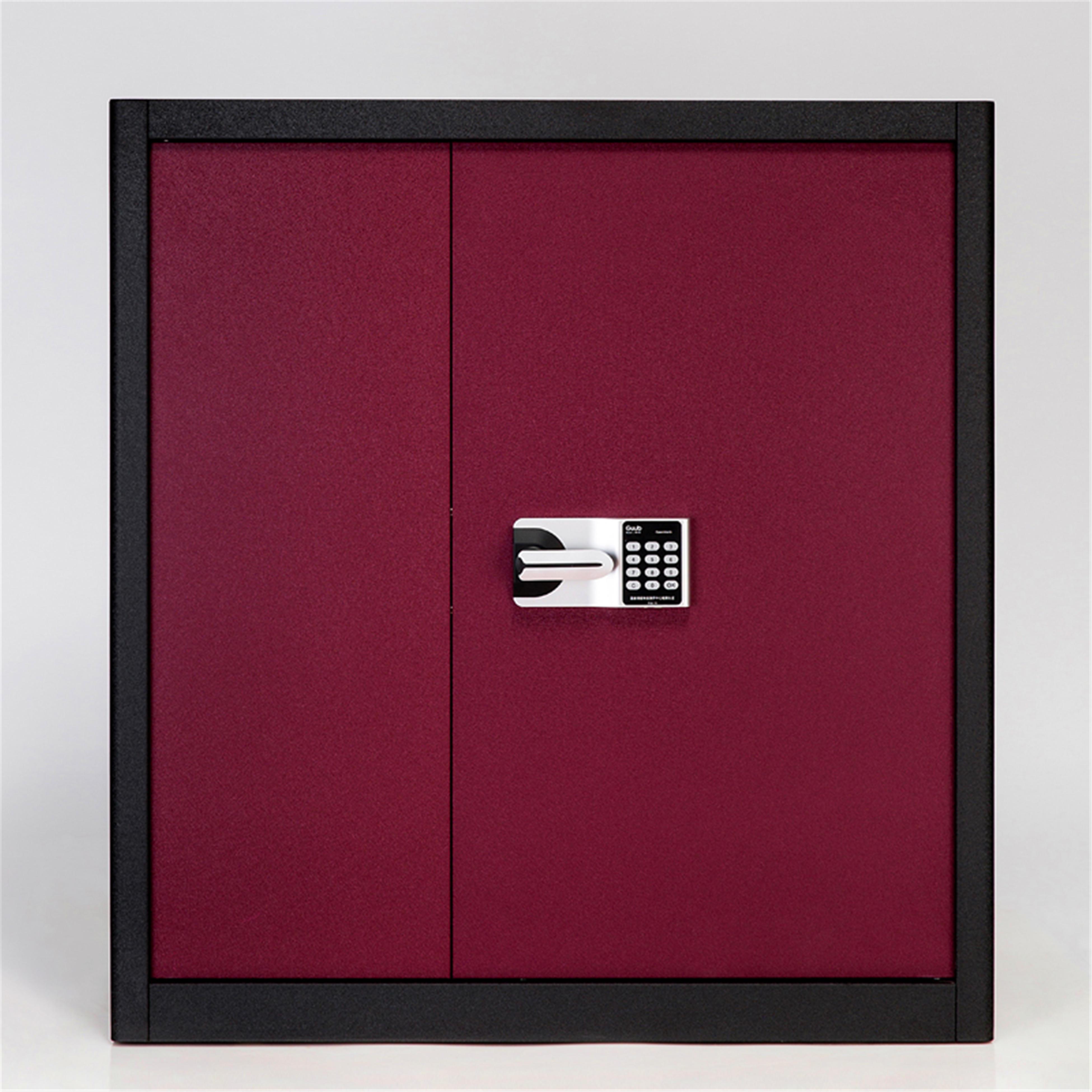 钢制保密柜电子密码锁文件柜全钢办公保险柜档案储物柜资料收纳柜