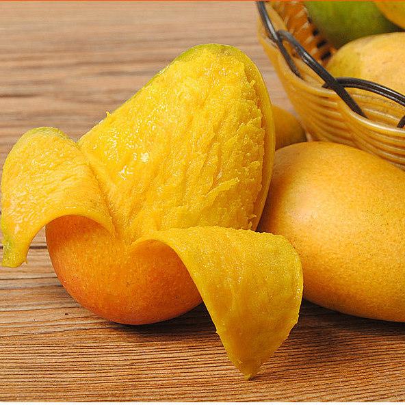 廣西小臺農芒果10斤裝  整箱批發 新鮮現摘 自然熟 水果 那坡特產