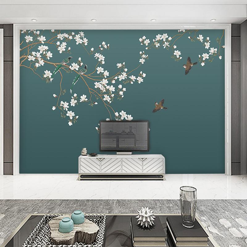 5d电视背景墙壁纸现代简约客厅装饰壁画8d立体无缝墙布3d影视墙纸图片