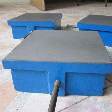 铸铁平台的角度测量和平面度测量