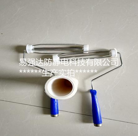 pe粘尘滚筒10寸易强达品牌创新性研发粘性准确除尘价格钜惠