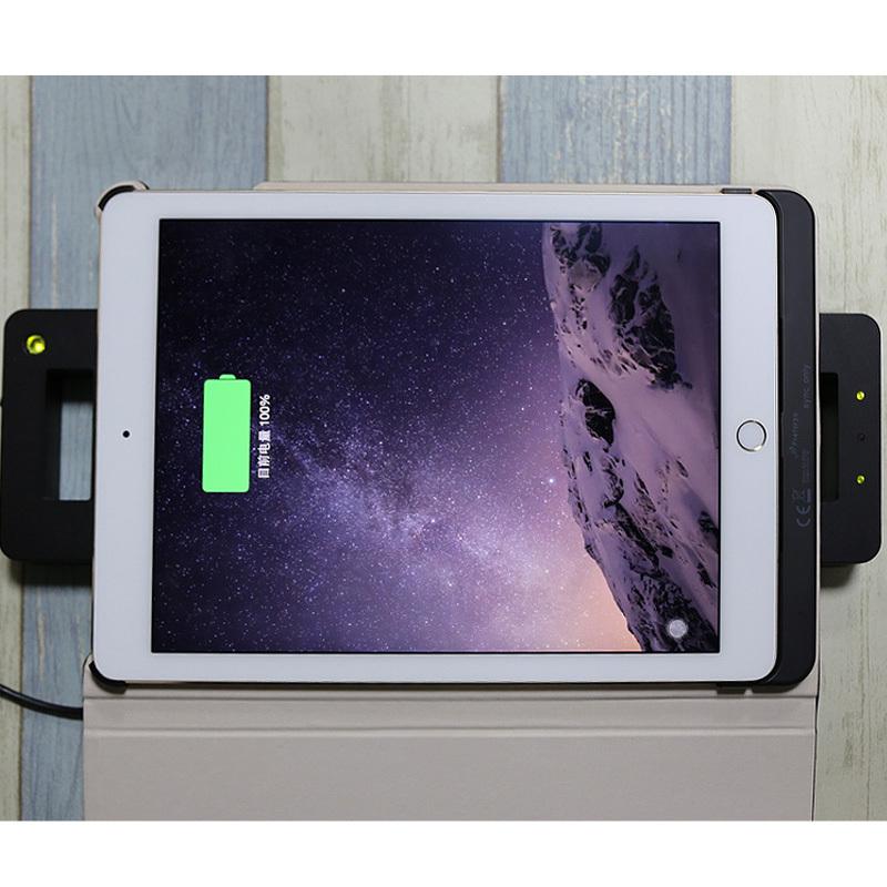 广州ipad pro保护套带支架无线充电仿皮纯色创意平板保护壳厂家定做