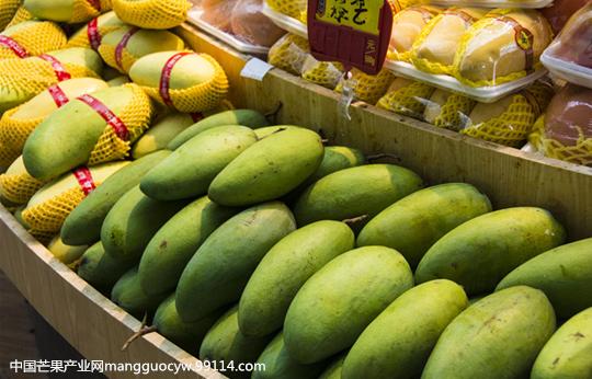 为何我国芒果进口份额年年递增