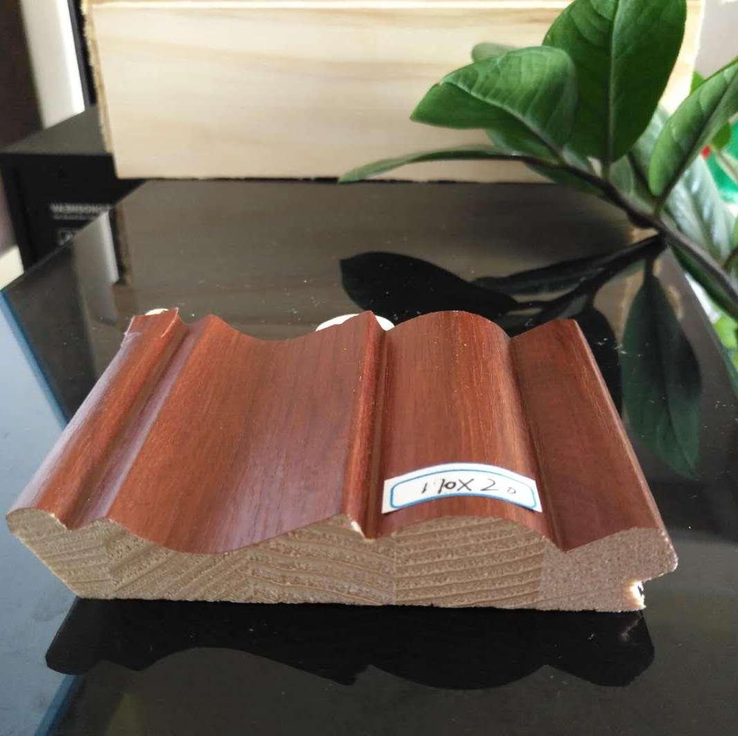 斯柏林新西兰松木覆膜进口免漆家具衣柜装饰线踢脚线生态环保