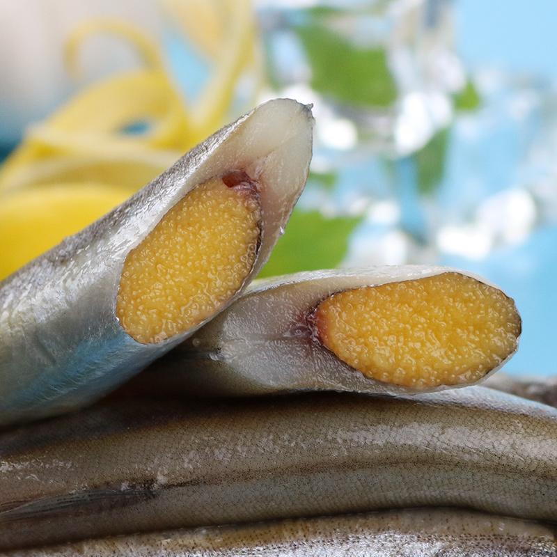 日韩料理海鲜烧烤食材-进口冷冻母体多春鱼大规格