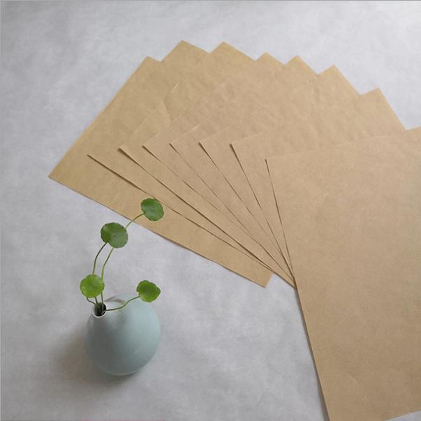 供应 可食品用本色牛皮纸 可定制气泡袋 信封 现货供应
