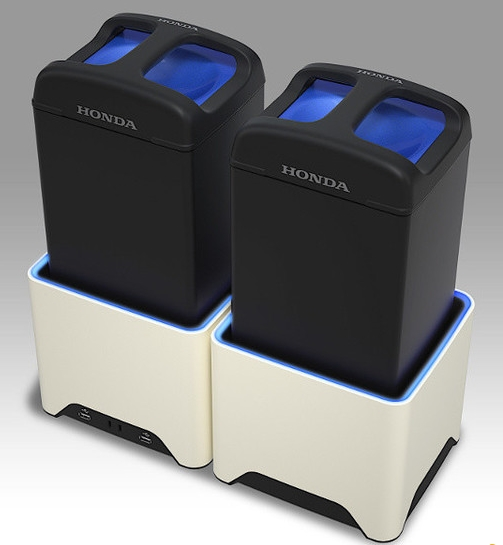 本田将利用电动自行车来测试可插拔电池