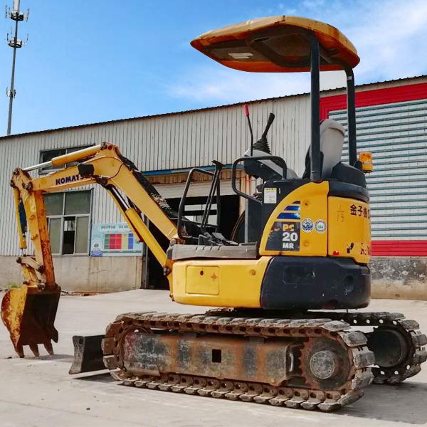 湖南怀化小松20二手挖掘机低价处理  二手小挖家用农用多功能设备
