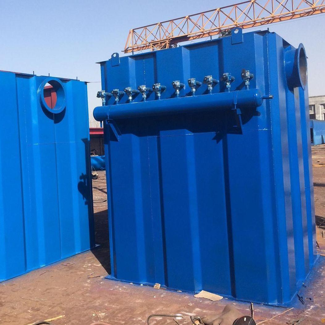 脉冲长袋除尘器结构特征及使用情况