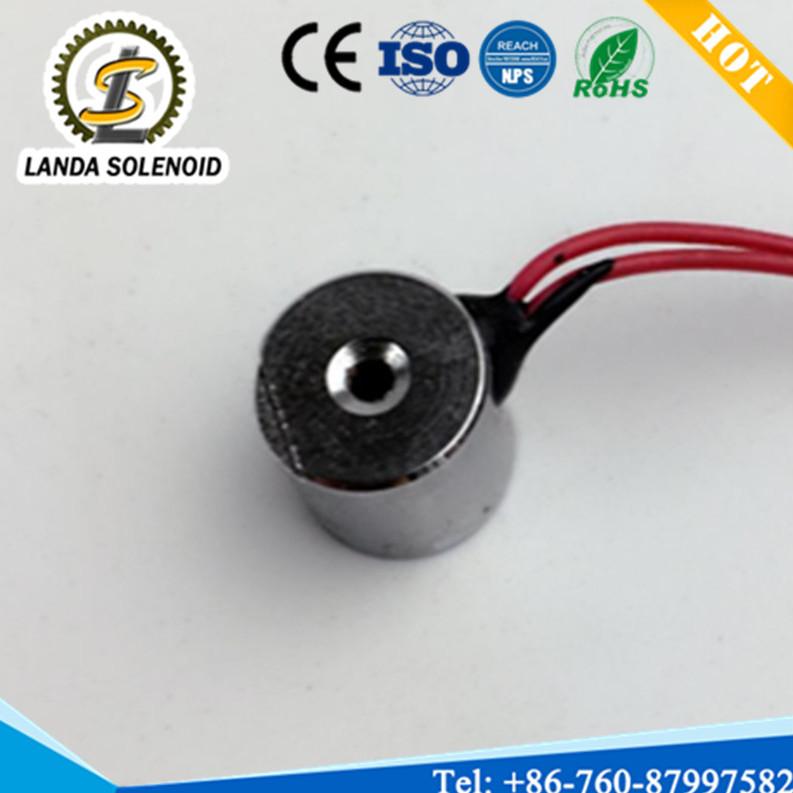 厂家直销小型圆形吸盘式电磁铁H1010电磁铁 吸力1.5N