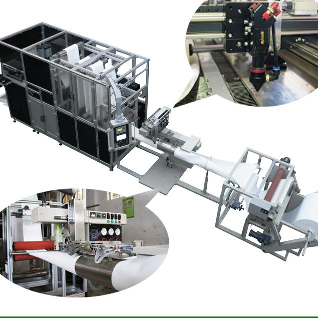 激光水滤生产线 除尘袋全自动缝纫机  上海哲曼环保