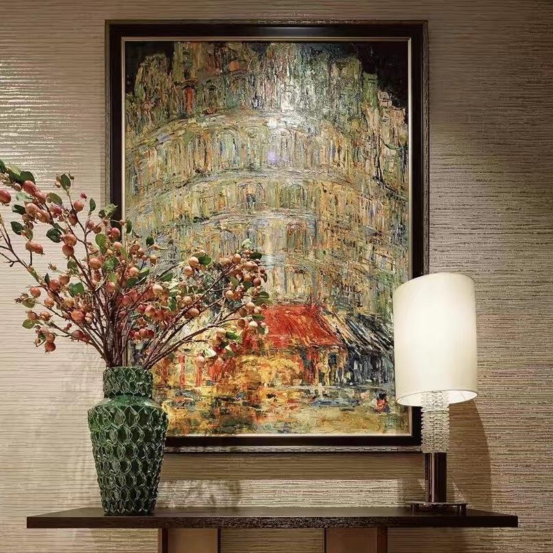 北京悦嘉睿智油画工作室定制各种题材手绘油画