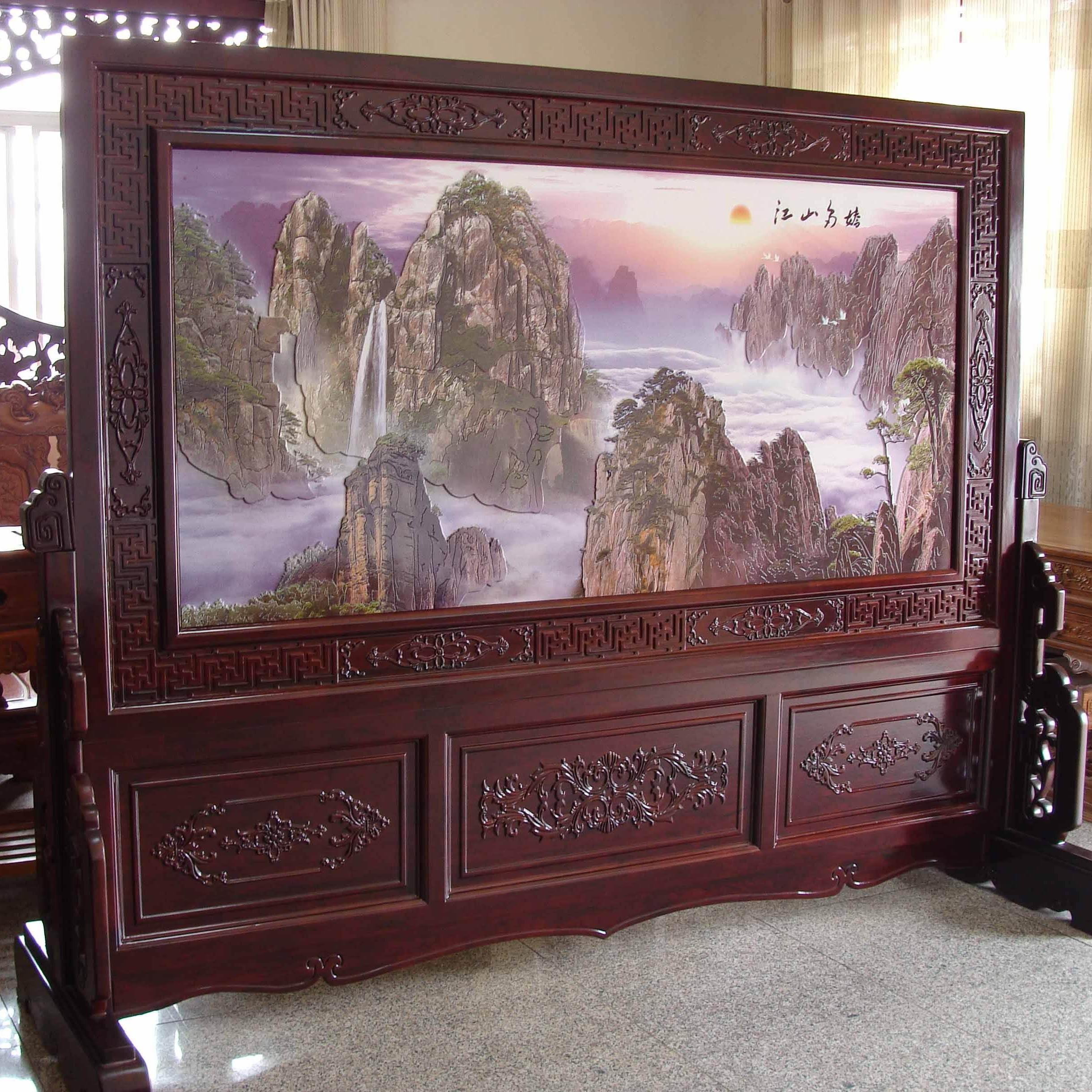 北京悦嘉睿智漆画工作室定制各种题材中式手工漆画