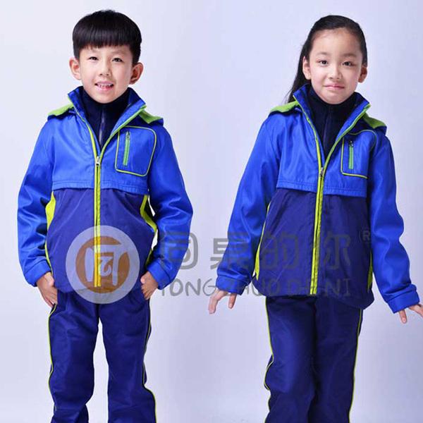 同桌的你专业定做校服 工作服 品牌校服 幼儿园冬季休闲运动装 冲锋衣