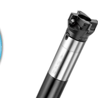 供应台湾RBH原装进口FMH减震铣刀杆系列BT50-FMH32-500-D58