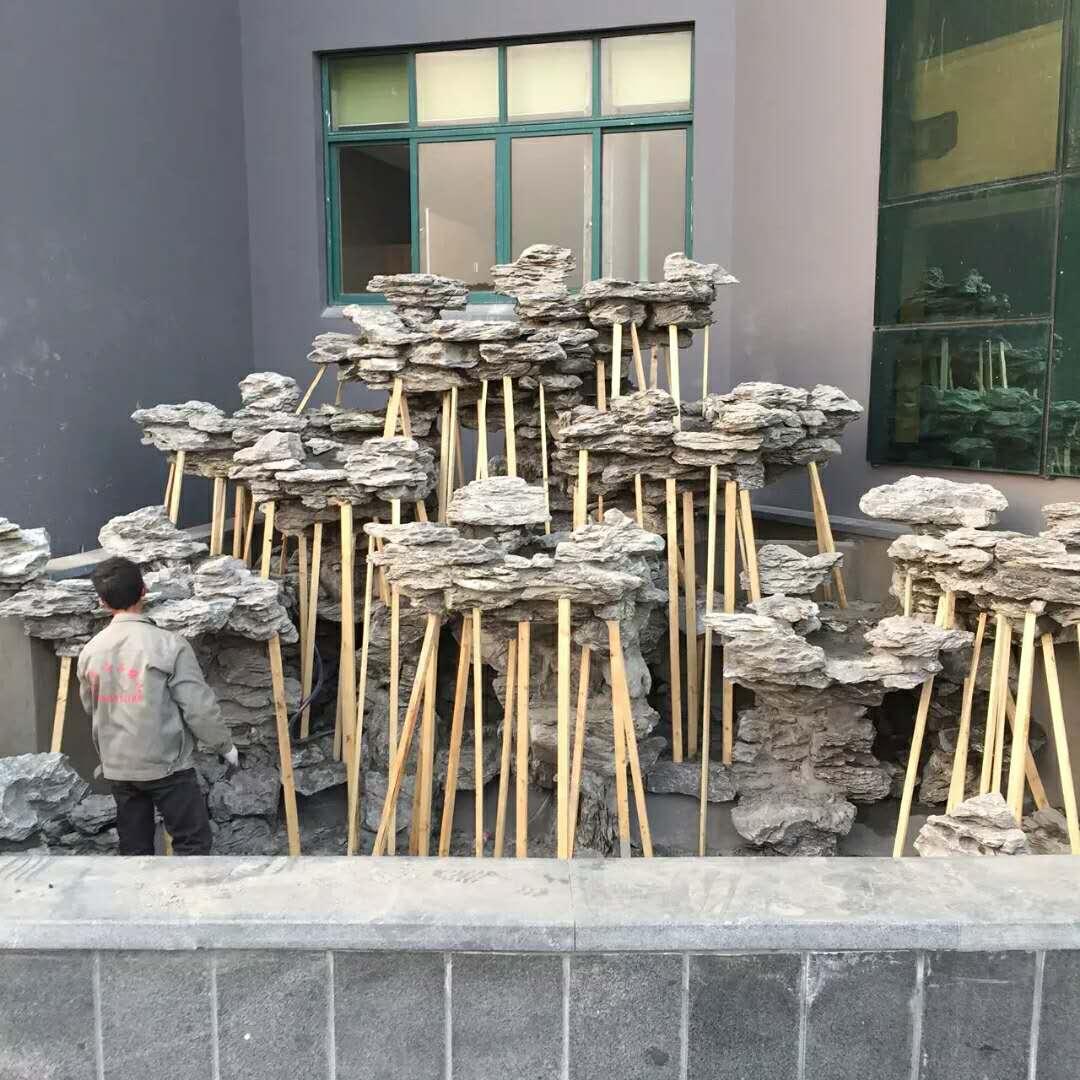 重庆英石假山制作\重庆优质英石批发\假山石价格