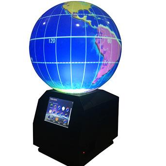 多媒体球幕投影演示(数字星球))