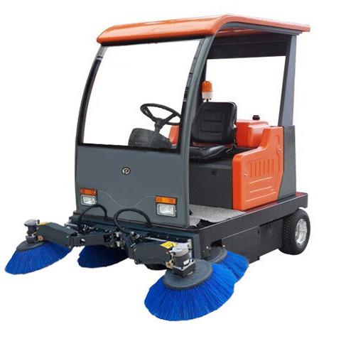 甘肃普森扫地车电动驾驶式扫地车景区专用扫地机道路清扫车PS-J1450BP