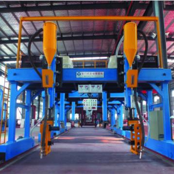 耀强LHA4000型龙门式埋弧焊机钢结构生产线龙门焊设备